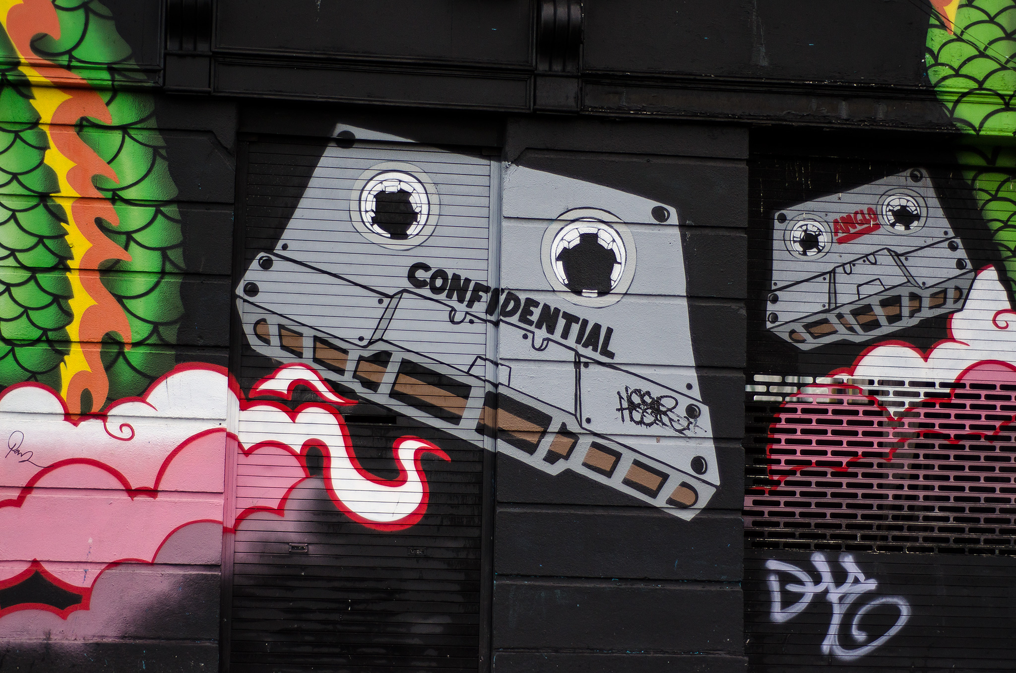 Graffiti Dublin Ireland