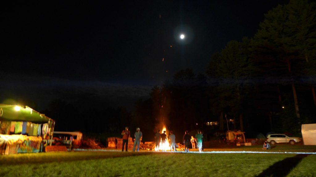 Pondfest 2014 bonfire