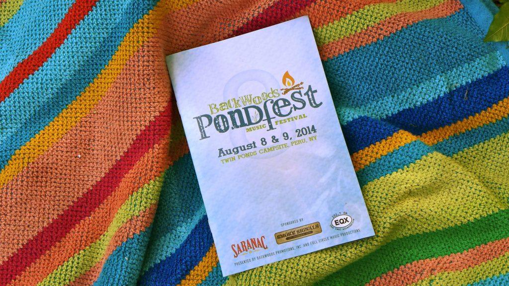 Pondfest 2014 schedule