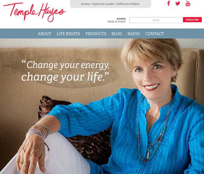 Temple Hayes Website by Bowen Imagery