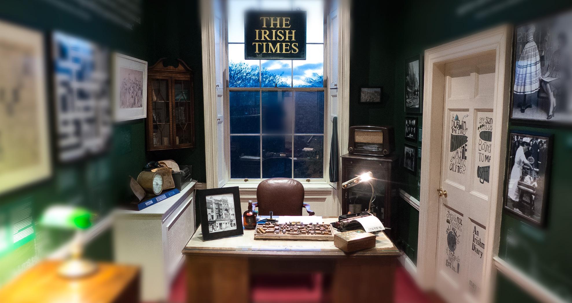 dublin irish times gallery