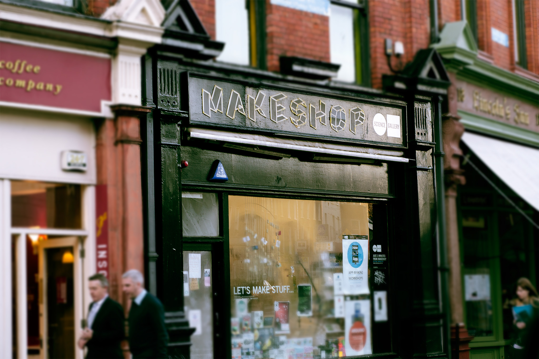 dublin makeshop science gallery make