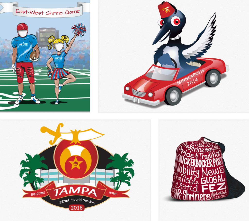 shriners international illustrations